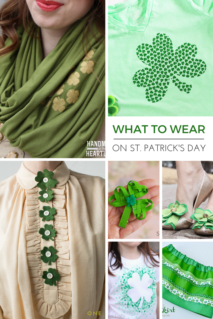 20 Ideas For Stpatricks Day Outfits Handmade In The Heartland
