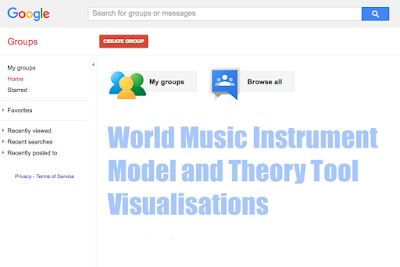 https://groups.google.com/forum/?hl=en#!forum/world-music-visualizations #VisualFutureOfMusic #WorldMusicInstrumentsAndTheory