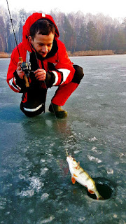 ice fishing prech