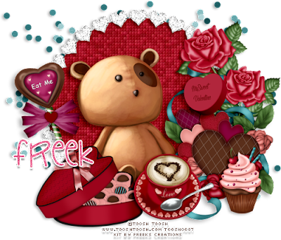 ★•★CT for Freeks Creations★•★ Love is Sweet