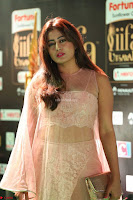 Nidhi Subbaiah Glamorous Pics in Transparent Peachy Gown at IIFA Utsavam Awards 2017  HD Exclusive Pics 45.JPG