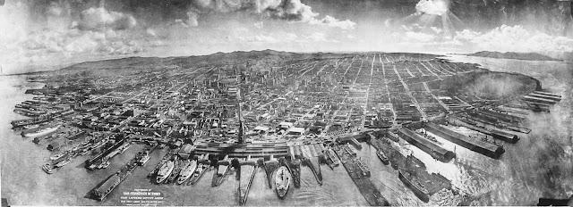 Fotografía tras el terremoto de San Francisco en 1906