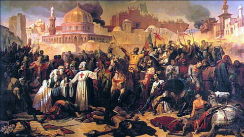 WORLD TIME LINE CHANNEL: 1095 AD - 1099 AD - First Crusade
