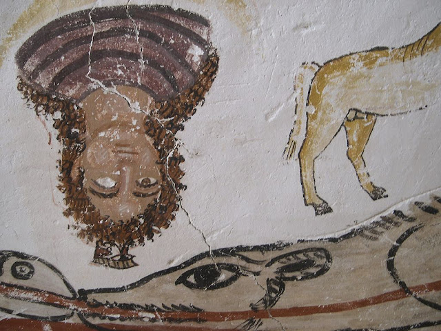 Paintings from the tomb of Petosiris at Muzawaka (XLVII)