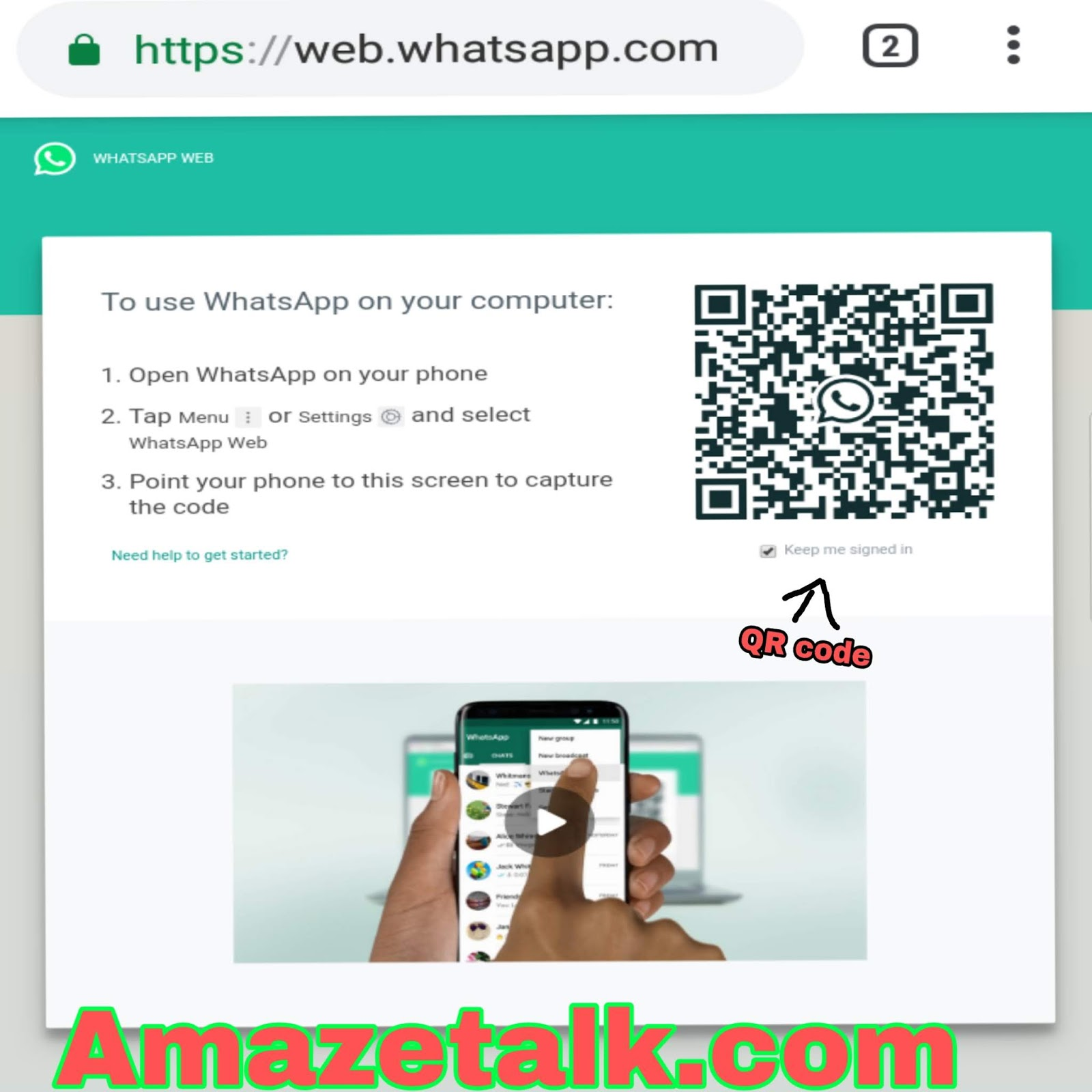 How to use What's app Web on PC? Pc me WhatsApp kaise chalaye