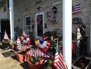 Memorial Day Patriotic Front Porch, 2020
