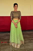 Actress Regina Candra Latest Pos in Green Long Skirt at Nakshatram Movie Teaser Launch  0108.JPG