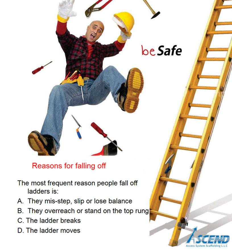 Welcome to ascend access system scaffolding l l c ladder for A frame ladder safety tips
