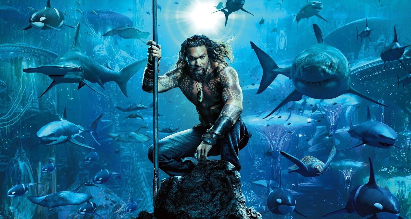 Liberada imagem de um dragão marinho em Aquaman