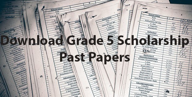 Download Grade 5 Scholarship Past Exam Papers & Model Papers