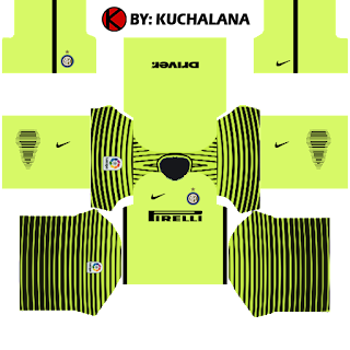 Inter Milan Kits 2016/2017 - Dream League Soccer 2015
