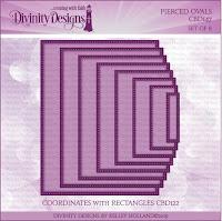 Divinity Designs LLC Custom Pierced Rectangles Dies