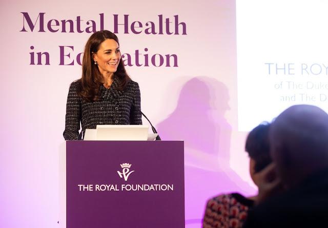 """Księżna Kate na konferencji ,,Mental Health in Education"""""""
