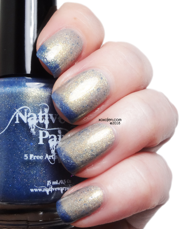 xoxoJen's swatch of Native War Paints A Cold Day in Texas