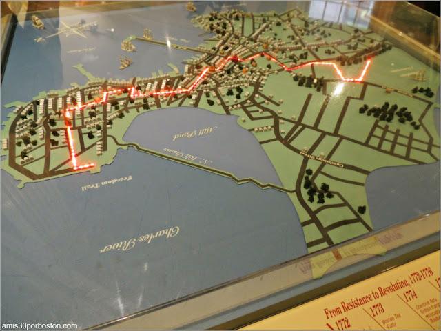Exhibiciones del Museo del Old State House de Boston