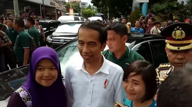 Inilah Video Detik-detik Presiden Jokowi Berkunjung ke Siantar, Masyarakat Membludak