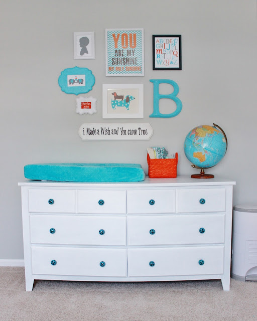 nursery gallery wall ideas