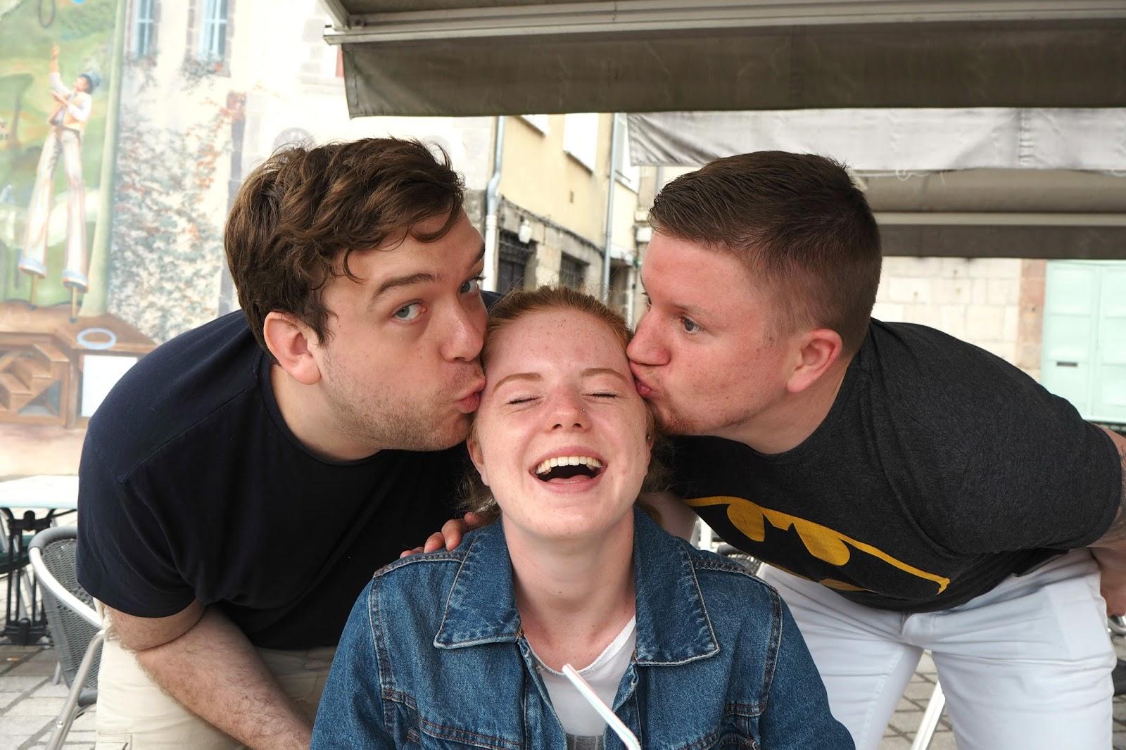Sam, Sarah and Sean