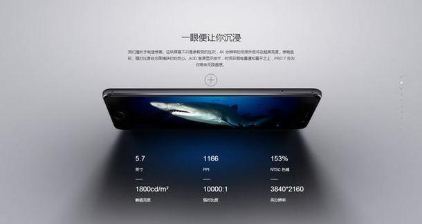 Meizu Pro 7 Display