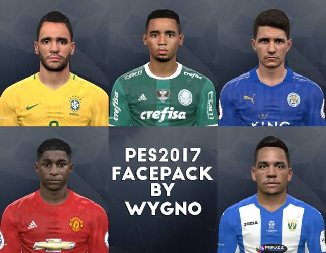 PES 2017 New Facepack