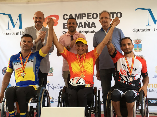 Campeonato de España Ciclismo adaptado 2017
