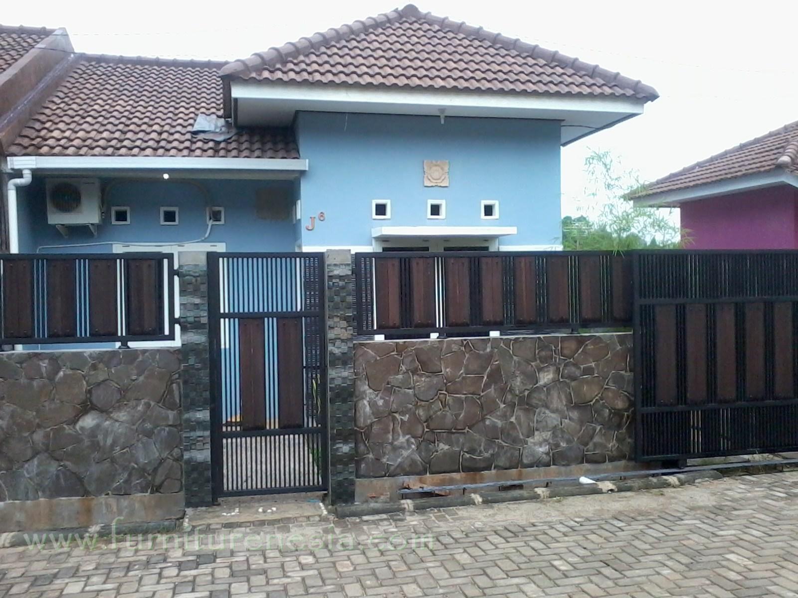 109 Pagar Rumah Minimalis Sederhana Type 36 Gambar Desain Rumah