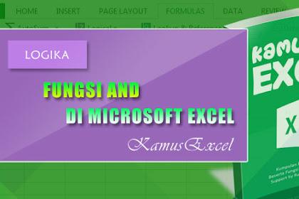 Rumus AND (Fungsi AND) di Microsoft Excel