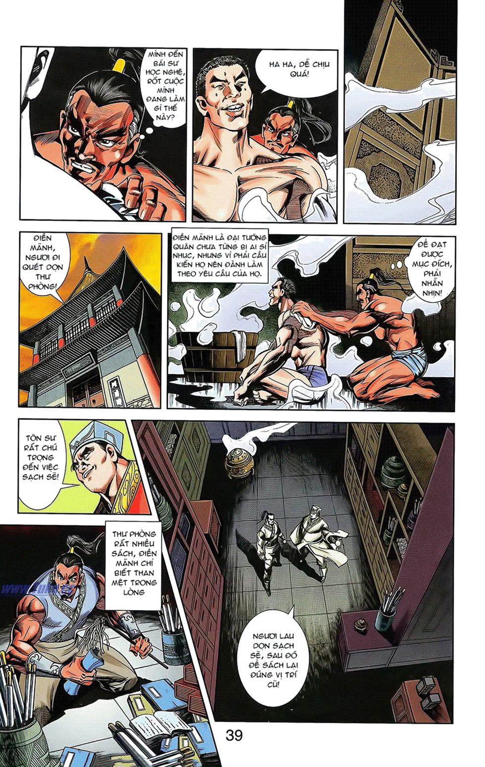 Tần Vương Doanh Chính chapter 16 trang 13