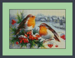 Зимние пташки
