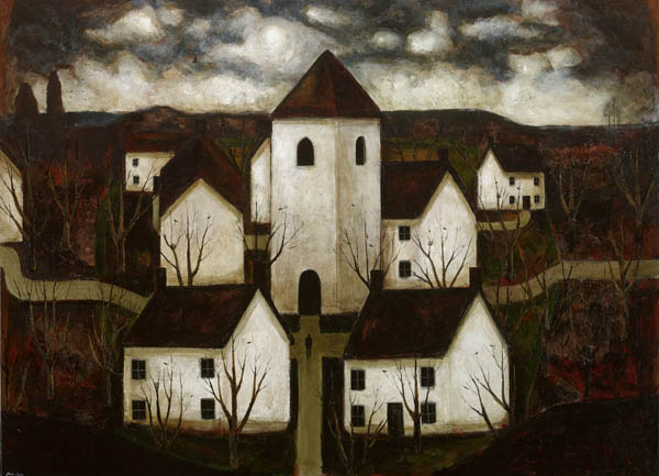 "Art, artwork, painting: ""The Tower"" by John Caple, 2017"
