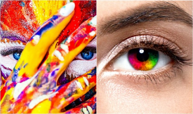 المرأة ترى ألواناً أكثر