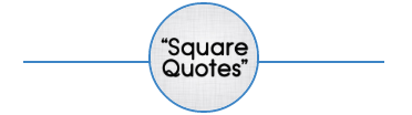 SquareQuotes | A Blend Of Perfect Words