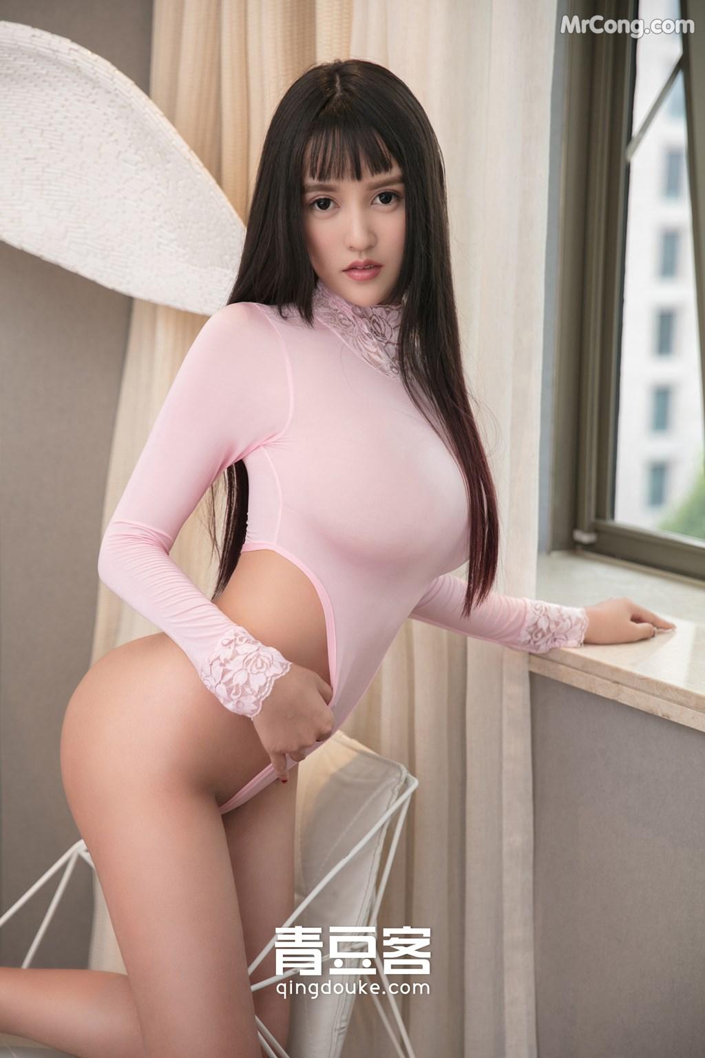 Image QingDouKe-2017-11-16-Bai-Yi-Han-MrCong.com-008 in post QingDouKe 2017-11-16: Người mẫu Bai Yi Han (白一晗) (51 ảnh)