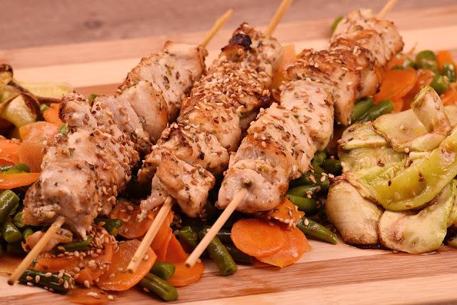Zero-oil Chicken Kebabs Recipe