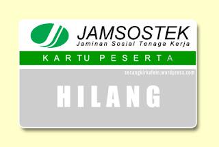mengatasi kjp hilang untuk mencairkan dana JHT BPJSTK / Jamsostek