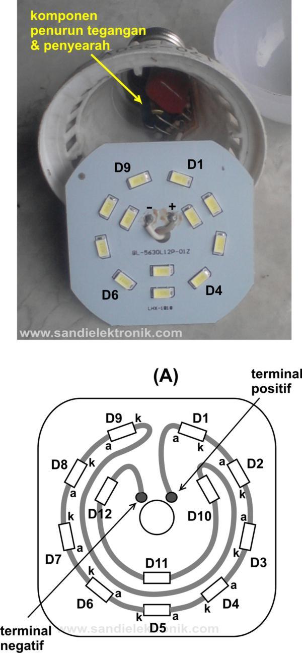 Cara Menurunkan Tegangan 220 Ke 110 : menurunkan, tegangan, Merubah, Lampu, 220AC, 12VDC, Sandi, Elektronik