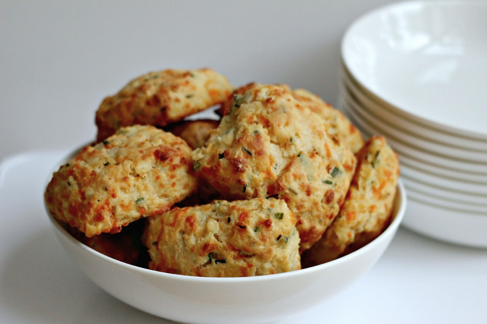 Milk And Honey Cheese And Chive Scones