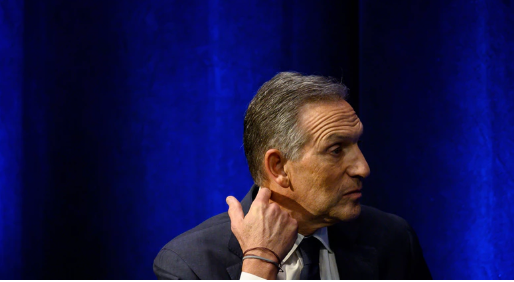 The Unbearable Stupidity of Howard Schultz's Presidential Fantasy