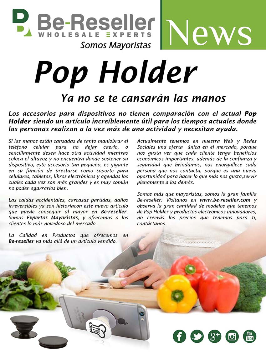 Pop Holders Be-reseller
