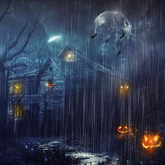 Spooky Mansion Wallpaper Engine