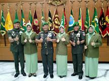 DANREM 132/TDL RESMI DILANTIK SEBAGAI WADAN PUSSENIF KODIKLAT TNI AD.