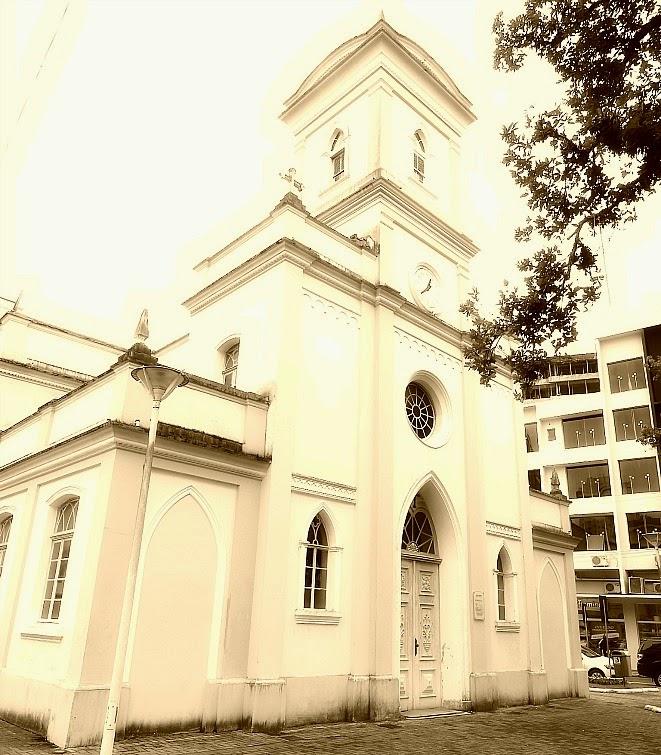Igreja da Imaculada Conceição, no Centro Histórico de Itajaí.