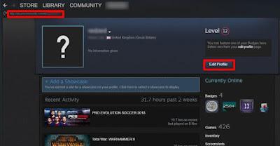 cara mengubah Steam ID-3