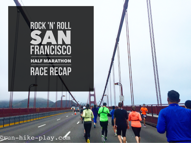 San Francisco Rock 'n' Roll Half Marathon Race Recap