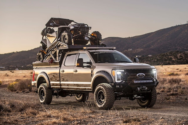 2017 Ford F-350 Recon Adventure Concept - #Ford #F350 #Recon #Adventure #Concept #SEMA #USA #America #truck
