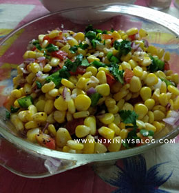 Healthy Corn Salad Recipe- Njkinny's Blog