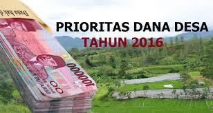 Ini Target Desa Baru Sungai Medang untuk Anggaran Dana Desa 2016