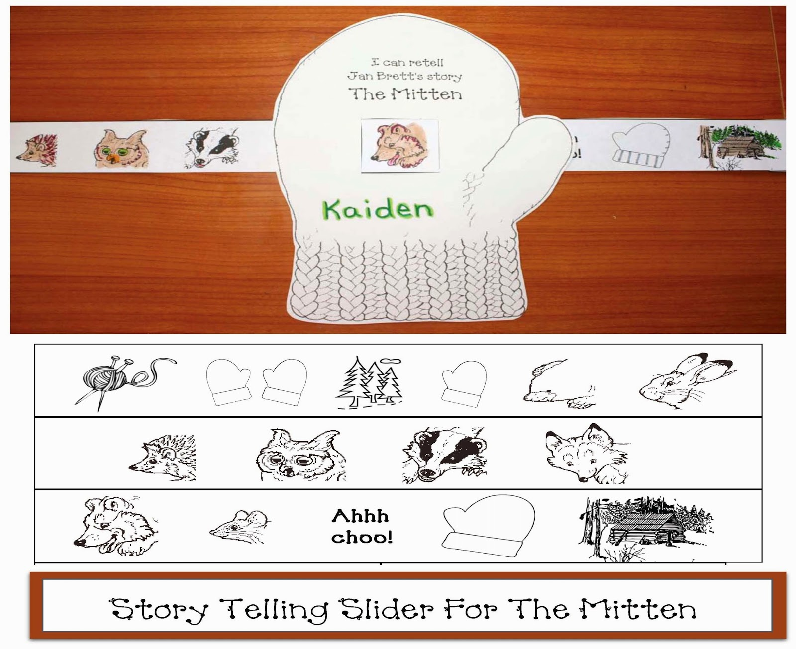 Search Results For The Mitten Sequencing Worksheets