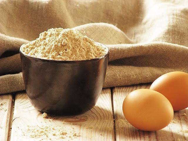 idée de recette avec d ela farine de châtaigne bio le carnet sur l'étagère