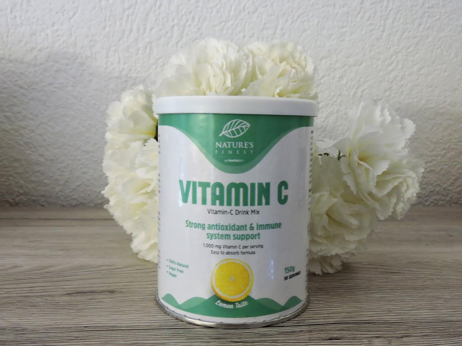 Vitamine C Nutrisslim biobox février 2019